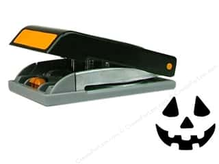 Winter Wonderland Punch: EK Paper Shapers Large Punch Jack O Lantern