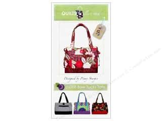 Tote Bag Happy Lines Tote: Quilts Illustrated Bow Tucks Tote Pattern