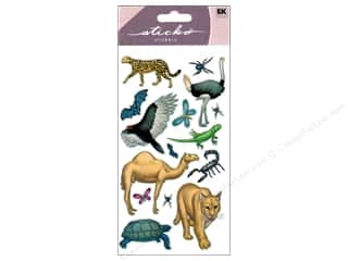EK Sticko Stickers Desert Animals