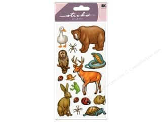 Animals: EK Sticko Stickers Forest Animals