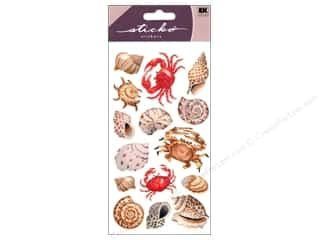 EK Sticko Stickers Shells And Crabs