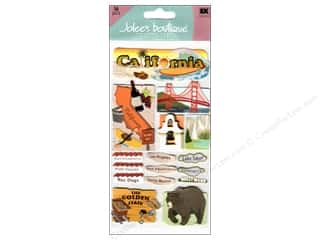Clearance Blumenthal Favorite Findings: Jolee's Boutique Stickers Large California