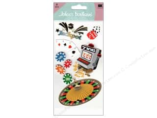 fanned scrapbooking gift: Jolee's Boutique Stickers Large Casino