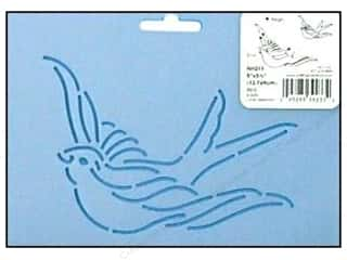 "Quilting Creations Stencil Bird 5"" X 3 1/2 """