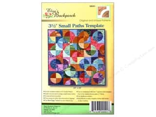 "Elisa's Backporch Design Quilting Templates / Sewing Templates: Elisa's Backporch Templates 3.5"" Small Paths"
