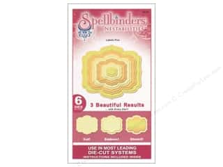 Spellbinders Nestabilities Die Labels Five