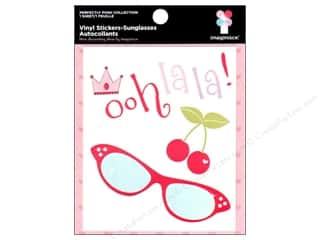 Imaginisce Sticker Perfectly Posh Vinyl Sunglasses
