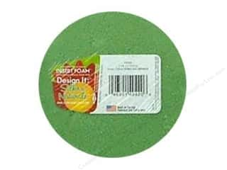 "Cutting Mats Floral Arranging: FloraCraft Desert Foam Arranger Disc 3 15/16""x 1 7/8"" Green"