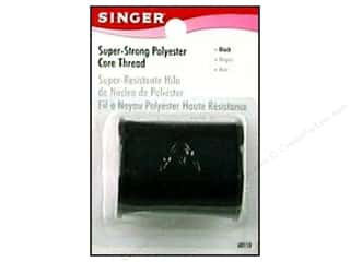 Singer Threads: Singer Thread Poly Core Black