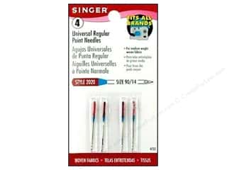 Singer Singer Machine Needle: Singer Regular Point Machine Needles Universal Size 14 4 pc.