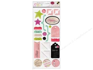 Theme Stickers / Collection Stickers: DieCuts Sticker Epoxy All About Girls Icon