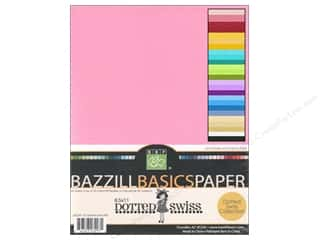 Bazzill: Bazzill Multi Pack 8.5x11 Dotted Swiss 60pc