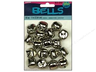 "Darice Bells Jingle 1"" Silver 18pc"