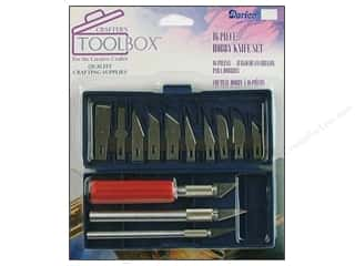 Darice Crafter's ToolBox Hobby Knife Set 16pc