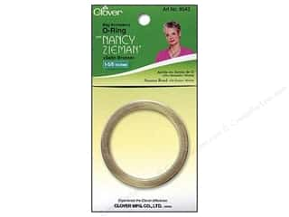 1.25&quot; D rings: Clover Zieman Bag O Ring 1 5/8&quot; Satin Bronze