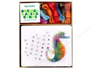 Chronicle Boxed Kits Eric Carle Animal Lacing Card