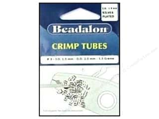Beadalon Crimp Tubes 2 mm Silver .05 oz.