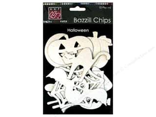 Bazzill Chips: Bazzill Chipboard Chips Halloween 10pc