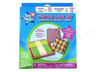 Weekly Specials Kool Tak Sparkles Set: Colorbok You Design It Weaving Loom Set