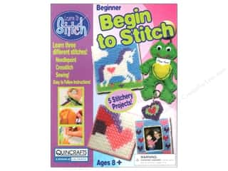 Colorbok Learn To Stitch Kit Beginner Deluxe Frog