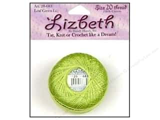 Handy Hands Lizbeth Tat Thread Sz 20 Leaf Green Lt