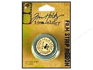 Tim Holtz Brown: Tim Holtz Idea-ology Ribbon 3yd Film Strip