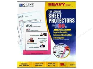 C-Line: C-Line Sheet Protector 8 1/2 x11 in. Top Load Heavy Weight (50 pieces)