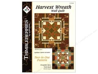 Harvest Wreath &amp; Pumpkin Spice Pattern