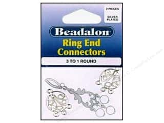 Beadalon Connectors 3 To 1 Filligree Round Silver