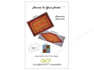 Accuquilt: QuiltWoman.com Pennies In Your Pocket Pattern
