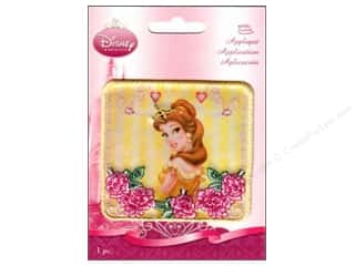 Wrights: Wrights Disney Iron On Appliques Princess Belle