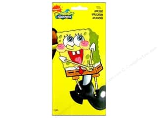 Wrights Appliques Iron On Sponge Bob Blushing