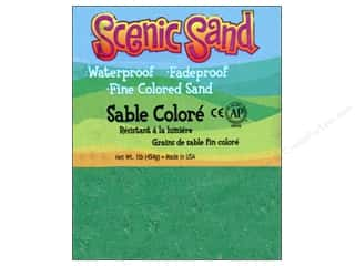Scenics Crafts with Kids: Activa Scenic Sand 1 lb. Vivid Green