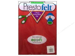 "Presto Felt 9""x 12"" Package Red"
