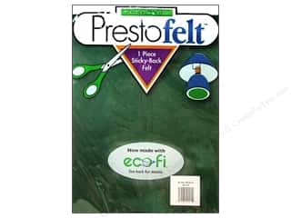 "Presto Felt 9""x 12"" Package Kelly Green"