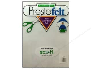 "felt: Presto Felt 9""x 12"" Package White"