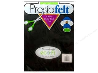 "Presto Felt 9""x 12"" Package Black"