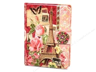 Punch Studio Journal Brooch Eiffel Tower Pink