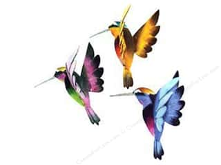 Midwest Design Birds Humngbird Flying 1.75x2&quot; Astd
