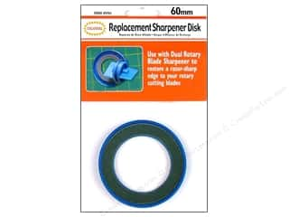 Rotary Cutting Rotary Blades: Colonial Needle Rotary Blade Sharpener 60mm Replacement Disk