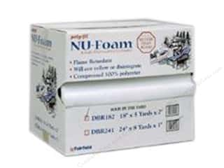 "Fairfield Fairfield Poly Fil Nu Foam: Fairfield Poly Fil Nu Foam 18""x 5""x 2"" Roll with Dispenser (5 yards)"