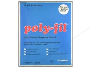 Fairfield Fairfield Poly Fil Nu Foam: Fairfield Fiber Poly Fil Box 10lb
