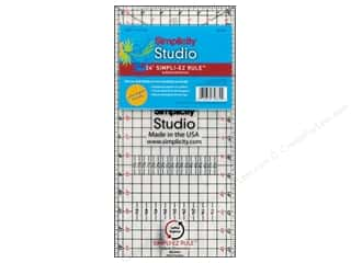 "Trims Hot: Simplicity Studio Ruler Simpli-EZ 6.5""x 24"""