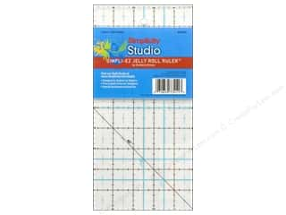 Simplicity Trim Rotary Cutting: Simplicity Studio Ruler Simpli-EZ Jelly Roll