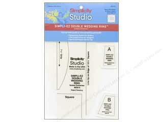 Simplicity Studio Ruler Simpli-EZ Dbl WeddingRing