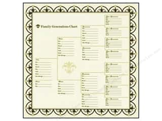 Bazzill 12 x 12 in. Paper Family Generations Chart 15 pc.