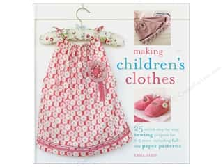 Books & Patterns $9 - $15: Cico Making Children's Clothes Book by Emma Hardy