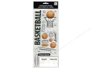 MAMBI Sticker Chipboard Kay Basketball