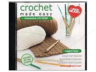 Computer Software / CD / DVD: C&C CD-ROM Made Easy Crochet