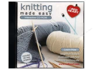 David & Charles Computer Software / CD / DVD: Coats & Clark CD-ROM Made Easy Knitting